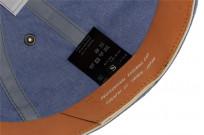 Poten Japanese Made Cap - Blue Water Repellant Chambray - Image 8