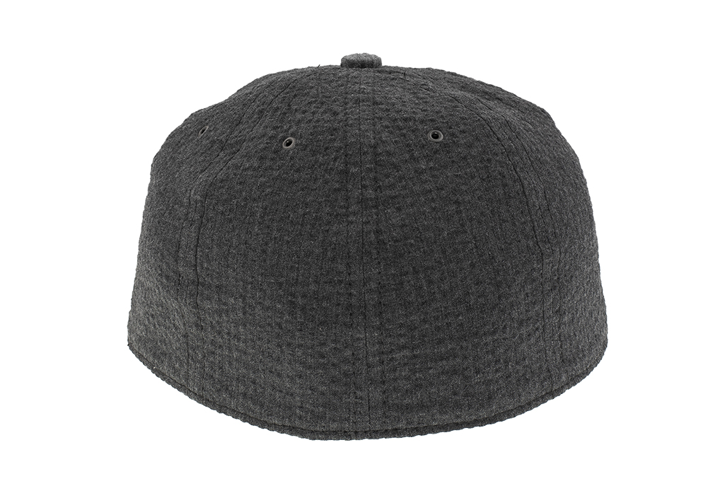 Poten Japanese Made Cap - Charcoal Seersucker - Image 5