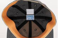 Poten Japanese Made Cap - Charcoal Seersucker - Image 8