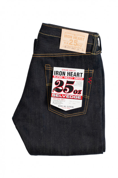Iron Heart 777-XHS Jeans - Slim Tapered 25oz