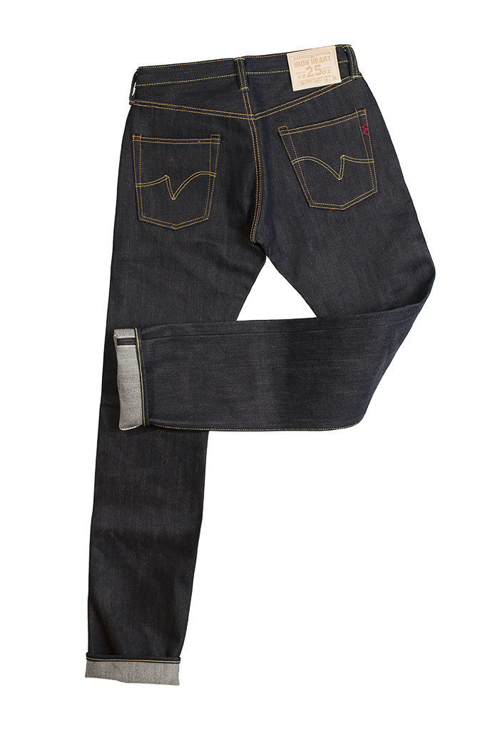 Iron Heart 777-XHS Jeans - Slim Tapered 25oz - Image 12