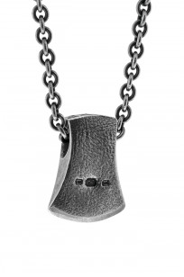 Neff Goldsmith Sterling Silver Necklace & Pendant - Axe Head - Image 1