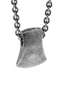 Neff Goldsmith Sterling Silver Necklace & Pendant - Axe Head - Image 2