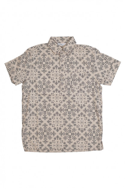 3sixteen Pop-Over Shirt - Natural Bandana