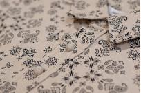 3sixteen Pop-Over Shirt - Natural Bandana - Image 3