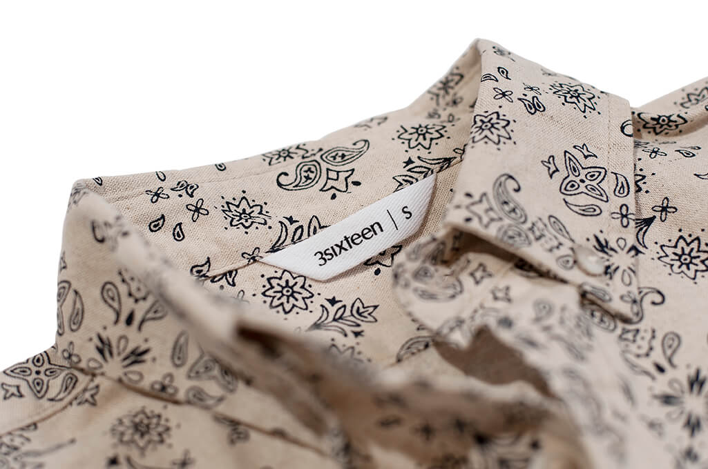 3Sixteen_Pop_Over_Shirt_Natural_Bandana_