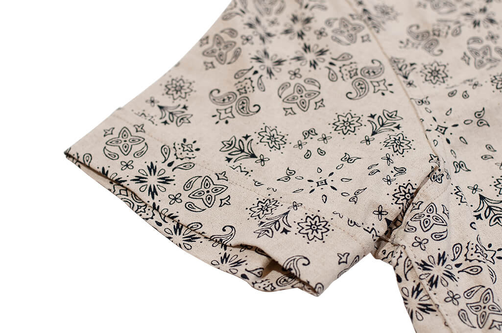 3sixteen Pop-Over Shirt - Natural Bandana - Image 7