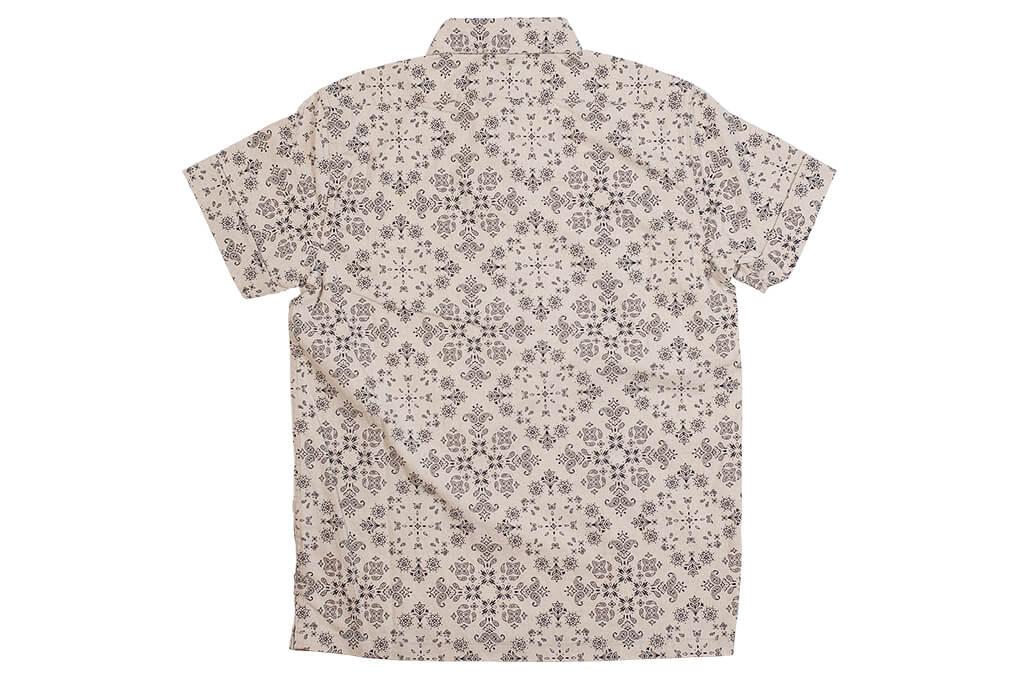 3sixteen Pop-Over Shirt - Natural Bandana - Image 10