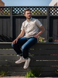 3sixteen Pop-Over Shirt - Natural Bandana - Image 11