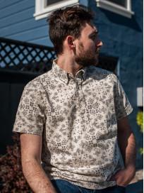 3sixteen Pop-Over Shirt - Natural Bandana - Image 13