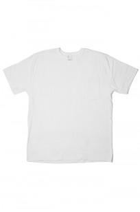 3sixteen T-Shirts w/ Pima Cotton 2-Pack - White w/ Pocket Pima - Image 0