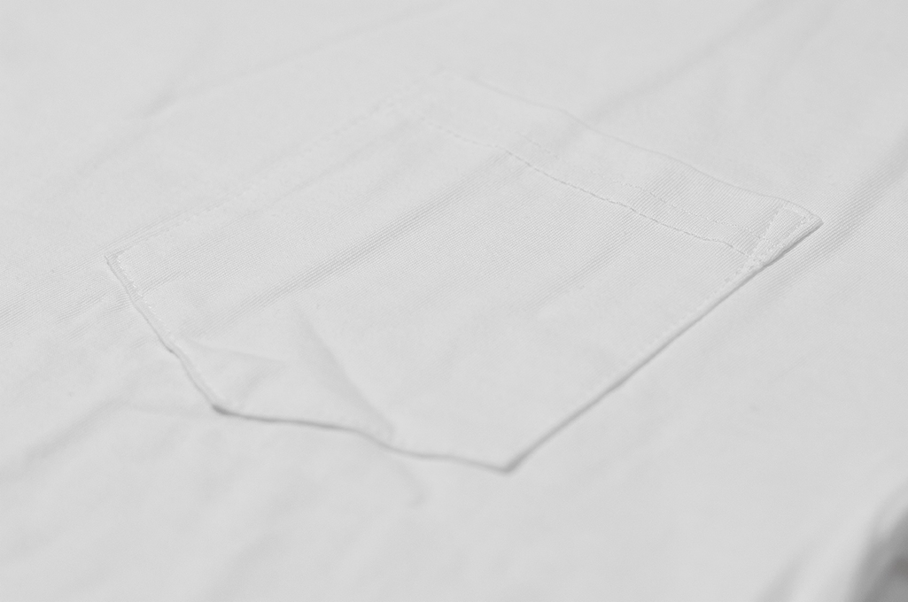 3sixteen T-Shirts w/ Pima Cotton 2-Pack - White w/ Pocket Pima - Image 5