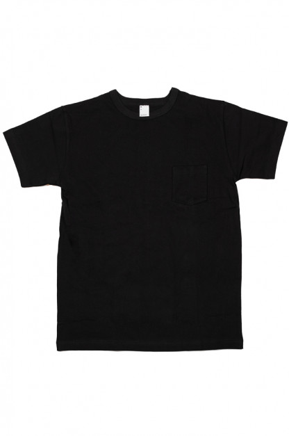 3sixteen Heavyweight T-Shirts / 2-Pack - Black w/ Pockets