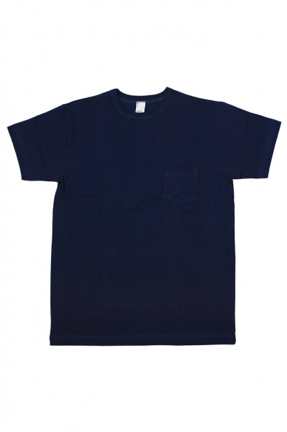 3sixteen Heavyweight T-Shirts / 2-Pack - Indigo-Dyed w/ Pockets