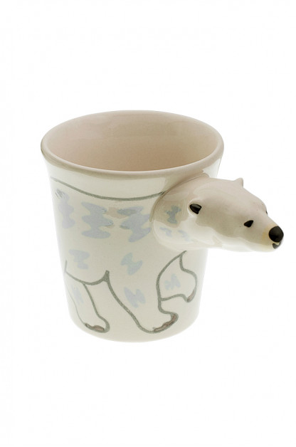 Human Made Ceramic Mug - Polar Bear Handle