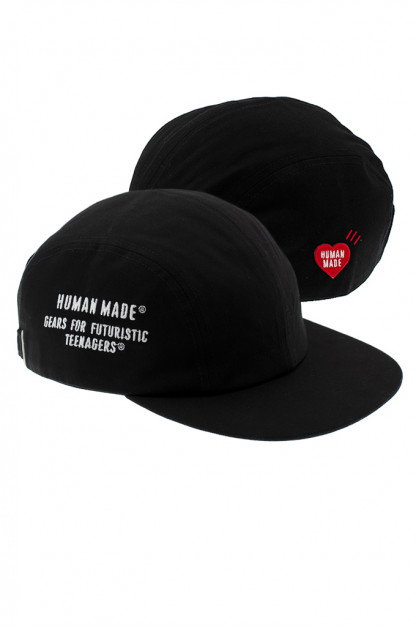 Human Made Adjustable 4-Panel Cap - Gears