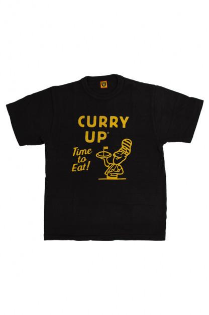 Human Made Slub Cotton T-Shirt - Curry Up