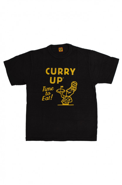 Human Made Slub Cotton T-Shirt - Curry Up