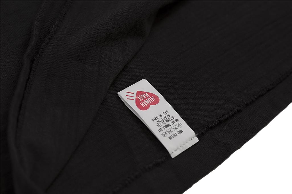 Human Made Slub Cotton T-Shirt - Curry Up - Image 7
