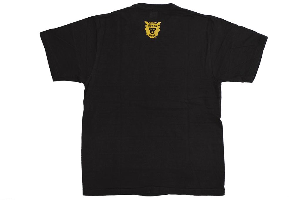Human Made Slub Cotton T-Shirt - Curry Up - Image 9