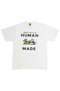 Human Made Slub Cotton T-Shirt - Dry Alls Duck - Image 0