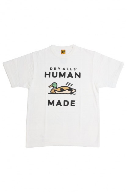 Human Made Slub Cotton T-Shirt - Dry Alls Duck