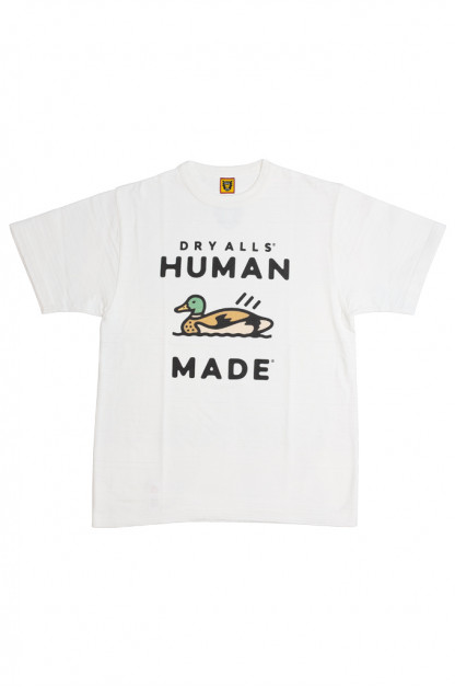 Human Made Slub Cotton T-Shirt - Dry Alls Duck