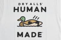 Human Made Slub Cotton T-Shirt - Dry Alls Duck - Image 4