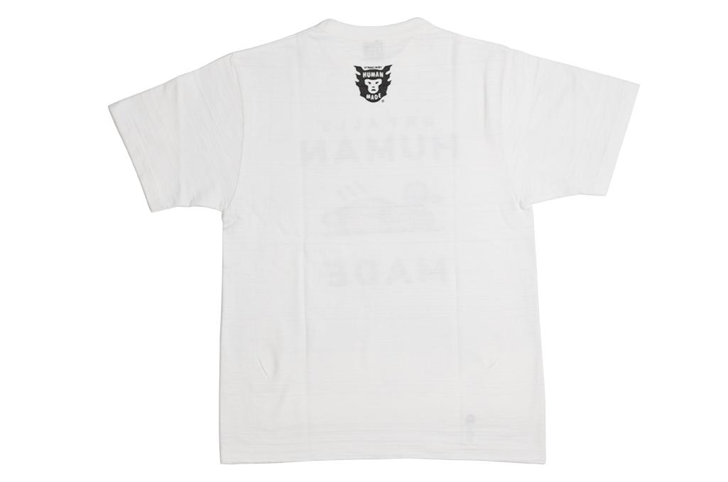 Human Made Slub Cotton T-Shirt - Dry Alls Duck - Image 9