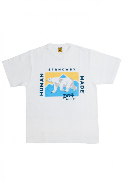 Human Made Slub Cotton T-Shirt - Dry Alls Polar