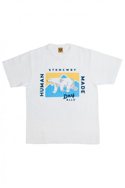 Human Made Slub Cotton T-Shirt - Dry Alls Polar