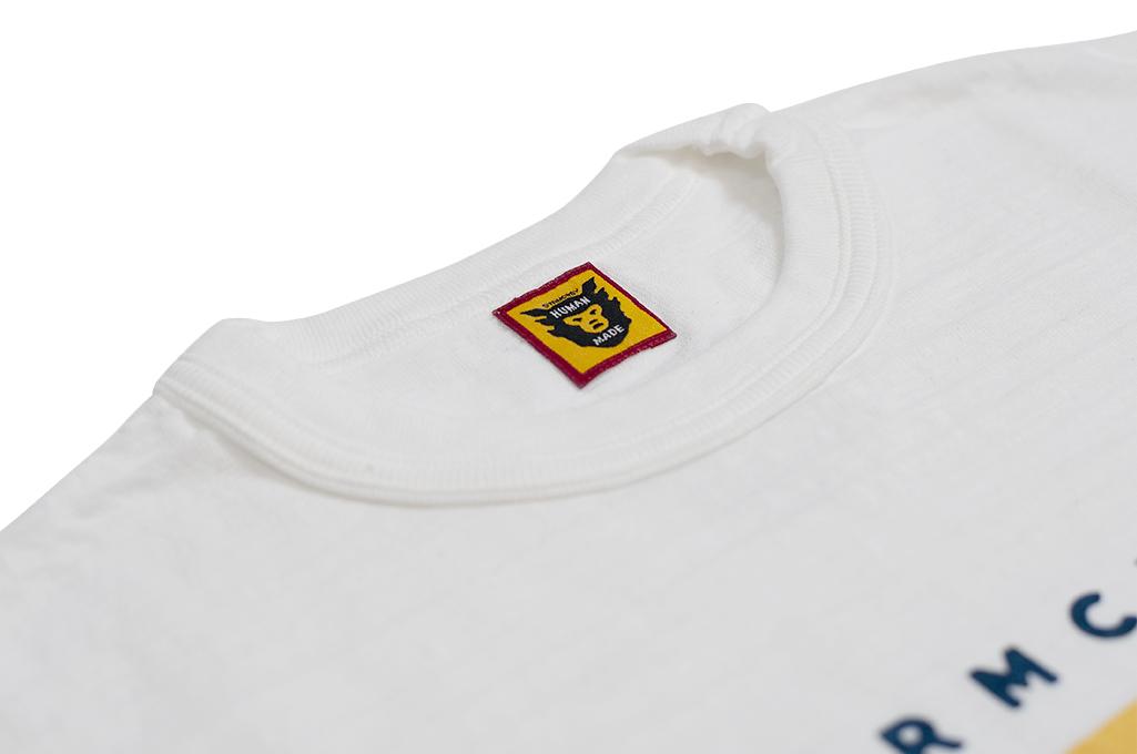 Human Made Slub Cotton T-Shirt - Dry Alls Polar - Image 5