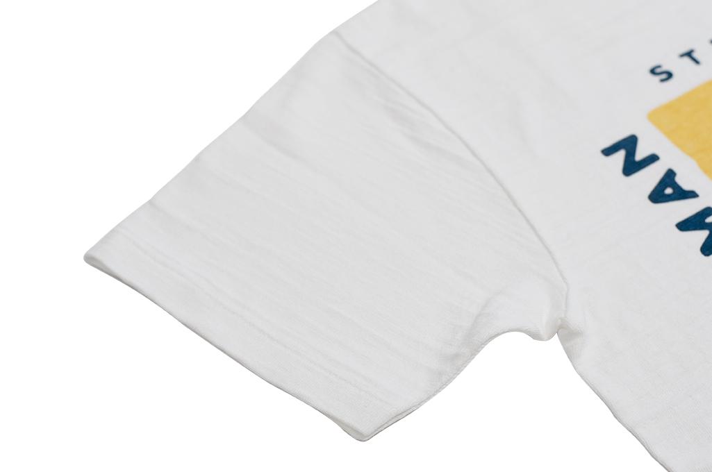Human Made Slub Cotton T-Shirt - Dry Alls Polar - Image 6