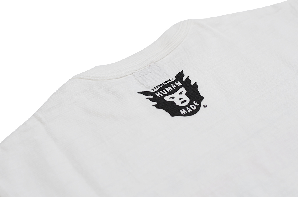 Human Made Slub Cotton T-Shirt - Dry Alls Polar - Image 8