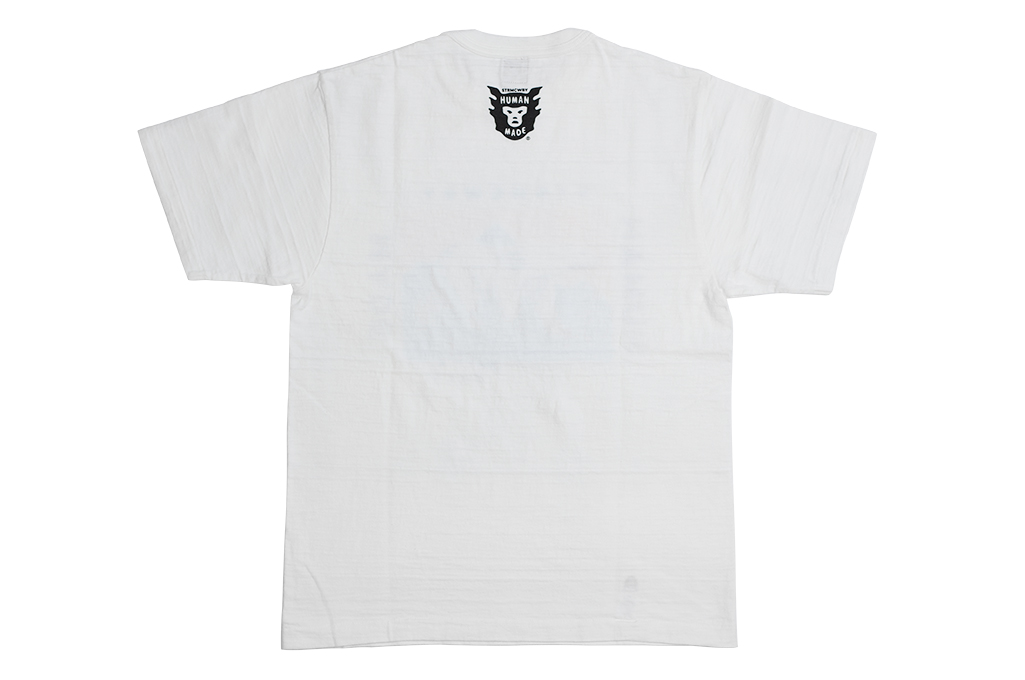 Human Made Slub Cotton T-Shirt - Dry Alls Polar - Image 9