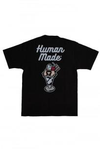 Human Made Slub Cotton T-Shirt - Sundae w/ Pocket - Image 0