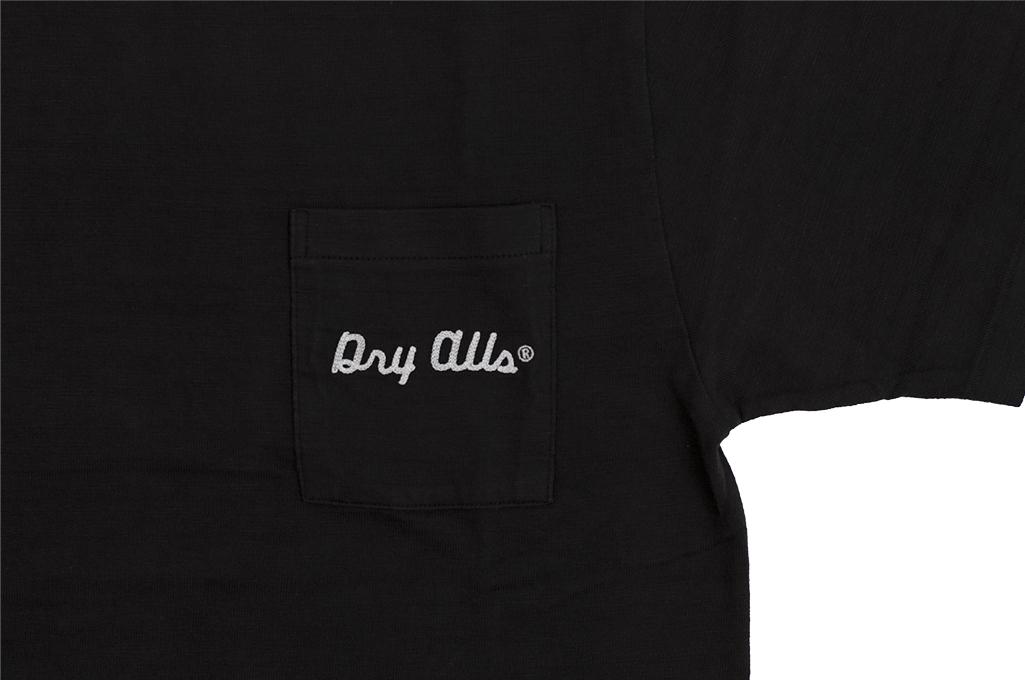 Human Made Slub Cotton T-Shirt - Sundae w/ Pocket - Image 4