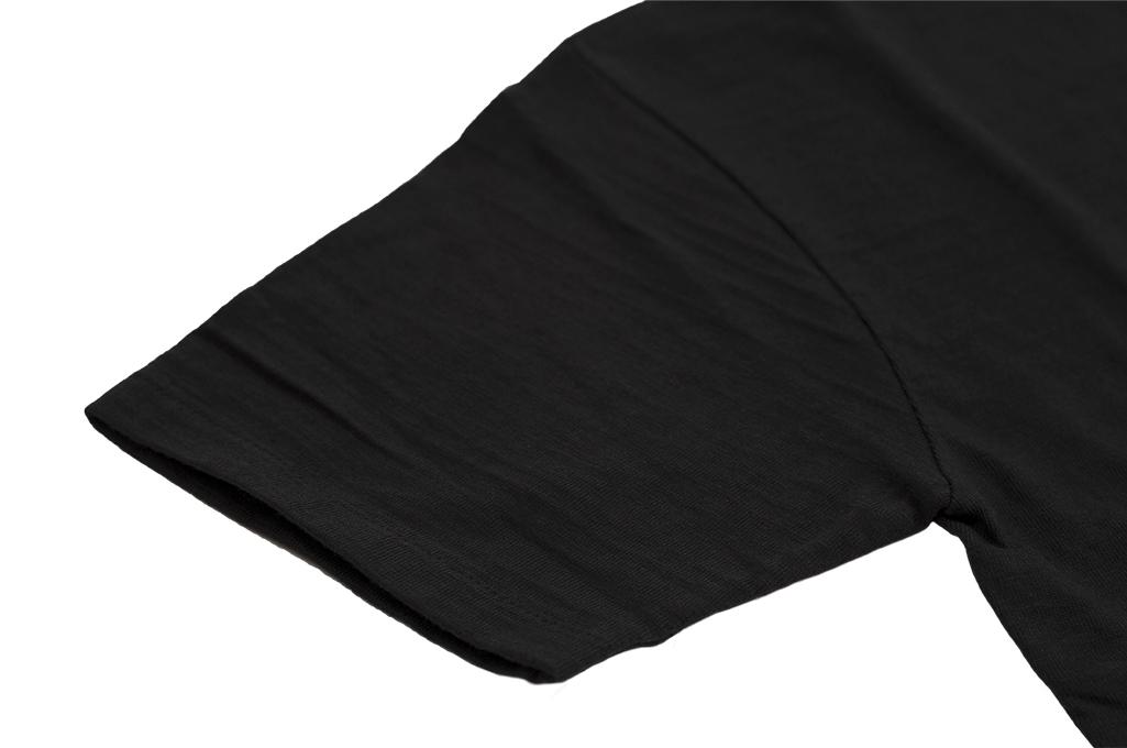 Human Made Slub Cotton T-Shirt - Sundae w/ Pocket - Image 6
