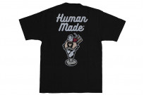 Human Made Slub Cotton T-Shirt - Sundae w/ Pocket - Image 11