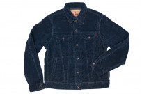 Iron Heart Corduroy Modified Type III Jacket - Indigo Dyed - Image 6