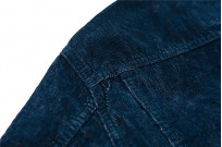 Iron Heart Corduroy Modified Type III Jacket - Indigo Dyed - Image 16