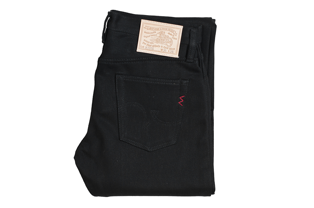 Iron Heart 8301s SBG Super Black Fade-To-Gray Denim - Image 2
