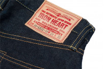 Iron Heart 633s-14 Lightweight 14oz Denim Jean - Straight Tapered - Image 12
