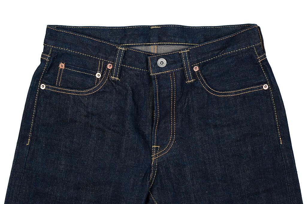Iron Heart 777N 17oz Natural Indigo Jeans - Slim Tapered - Image 6