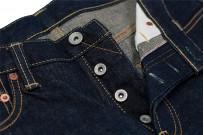 Iron Heart 777N 17oz Natural Indigo Jeans - Slim Tapered - Image 9
