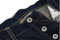 Iron Heart 777N 17oz Natural Indigo Jeans - Slim Tapered - Image 10