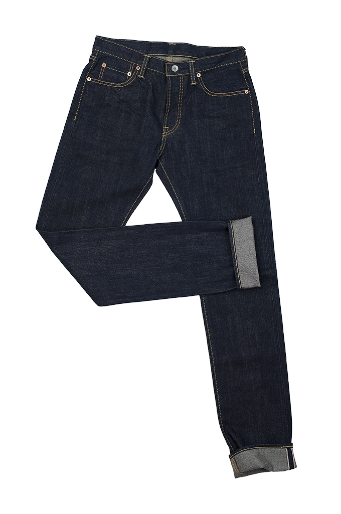 Iron Heart 777N 17oz Natural Indigo Jeans - Slim Tapered - Image 11