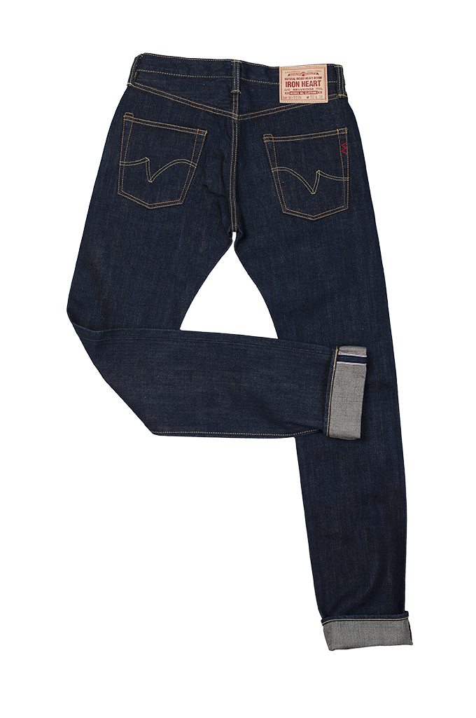 Iron Heart 777N 17oz Natural Indigo Jeans - Slim Tapered - Image 12