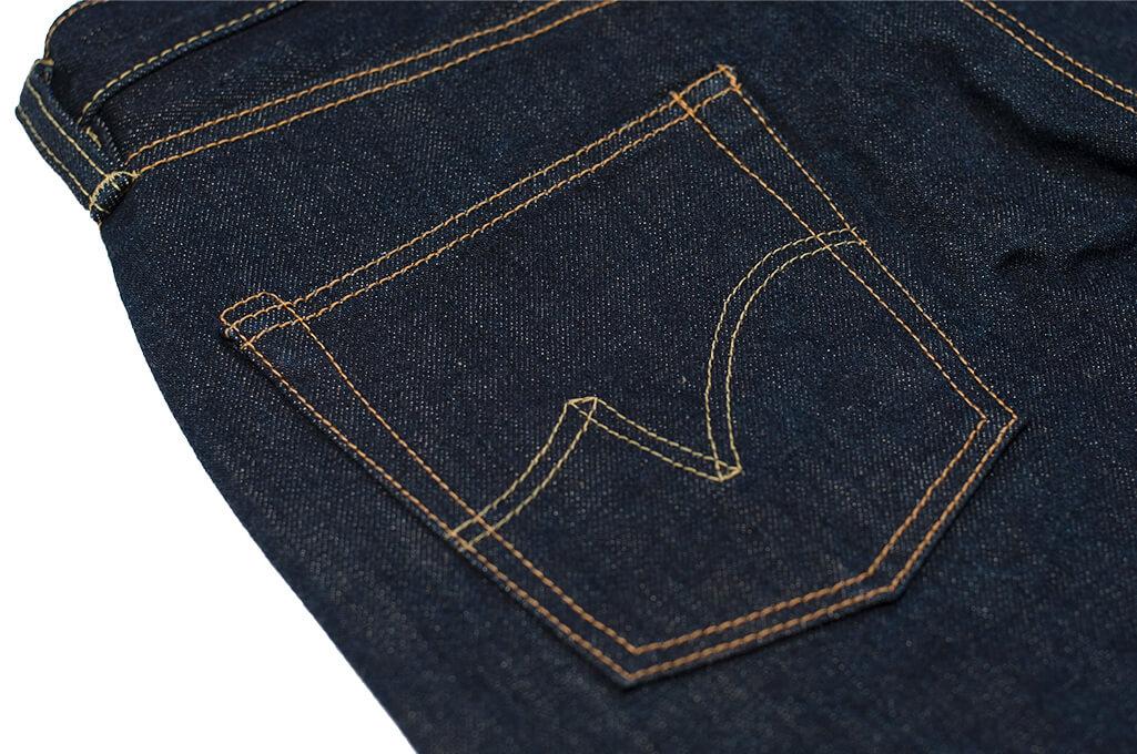 Iron Heart 777N 17oz Natural Indigo Jeans - Slim Tapered - Image 14