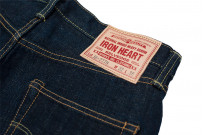 Iron Heart 777N 17oz Natural Indigo Jeans - Slim Tapered - Image 16